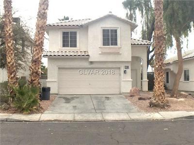 Las Vegas, North Las Vegas Rental For Rent: 2260 Blackberry Valley Way