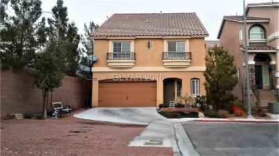 Las Vegas NV Single Family Home For Sale: $354,900