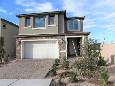 Henderson Single Family Home For Sale: 2878 Tremont Avenue #Lot 5