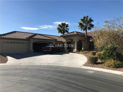 Las Vegas Single Family Home Contingent Offer: 7521 Prancing Pony Court