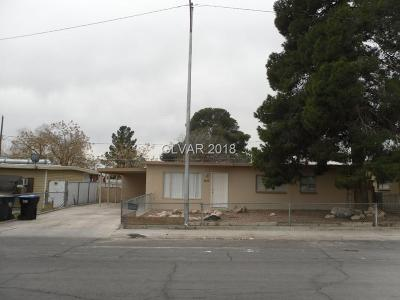 North Las Vegas NV Single Family Home For Sale: $98,000