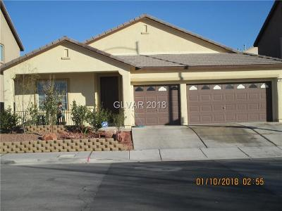 North Las Vegas Single Family Home For Sale: 5448 Donna Street