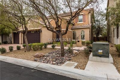 Las Vegas Single Family Home For Sale: 9814 Buttermilk Falls Street