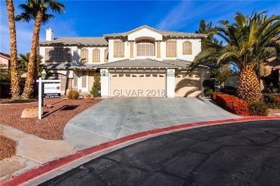 Las Vegas Single Family Home For Sale: 7141 Groveton Court