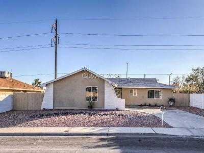 Las Vegas Single Family Home For Sale: 7221 William Anders Avenue