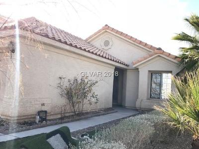 Las Vegas Single Family Home For Sale: 1505 Pacific Terrace Drive