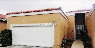 Las Vegas Condo/Townhouse For Sale: 2827 Hedge Creek Avenue