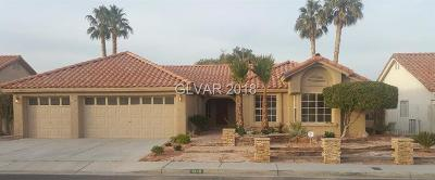 Las Vegas Single Family Home For Sale: 1248 Spanish Armada Road
