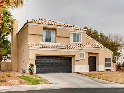 Henderson NV Single Family Home For Sale: $339,500