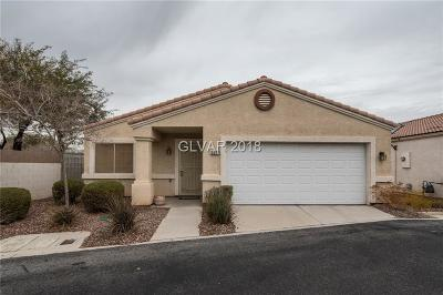 Las Vegas Single Family Home For Sale: 5071 Droubay Drive