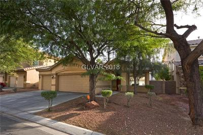 Las Vegas Single Family Home For Sale: 3337 Alcudia Bay Avenue