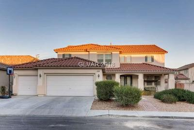 Las Vegas Single Family Home For Sale: 8508 Sable Beauty Street