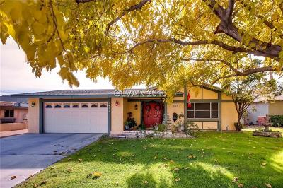 Las Vegas Single Family Home For Sale: 5417 Avenida Caballo