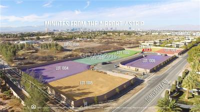 Las Vegas Residential Lots & Land For Sale: 6865 Hidden Sunset Lane
