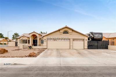 Las Vegas Single Family Home For Sale: 6309 Canyon Ridge Drive