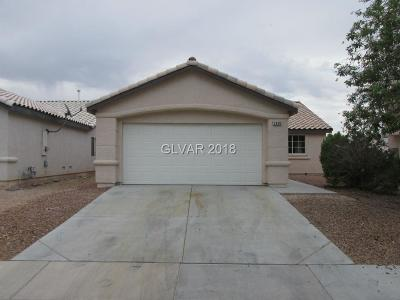 North Las Vegas Single Family Home For Sale: 3330 Old Sorrel Court