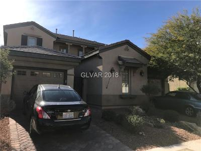 North Las Vegas Single Family Home For Sale: 3805 Moonshine Falls Avenue