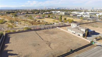 Las Vegas Residential Lots & Land For Sale: 6575 Tomiyasu Lane