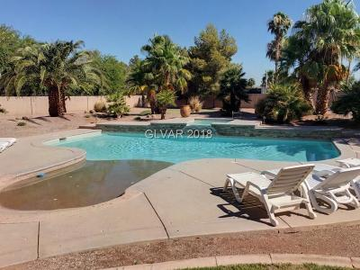 Las Vegas NV Single Family Home For Sale: $980,000