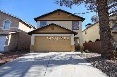 Las Vegas NV Single Family Home For Sale: $212,900