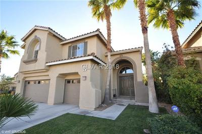 Las Vegas Single Family Home For Sale: 421 Copper Valley Court