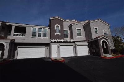 Las Vegas NV Condo/Townhouse For Sale: $195,000