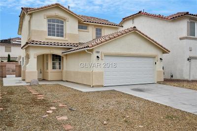 Las Vegas Single Family Home For Sale: 6033 Clifton Hollow Street