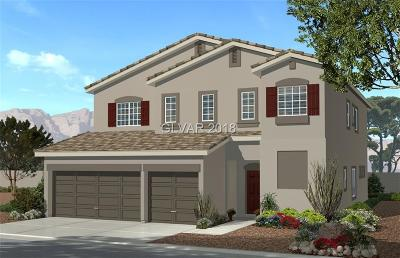 Las Vegas Single Family Home For Sale: 6274 Cypress Springs Circle #Lot 1016