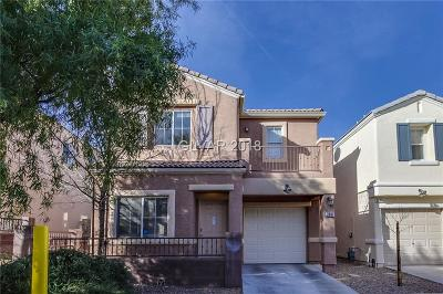 Las Vegas Single Family Home For Sale: 3647 McMurty Court