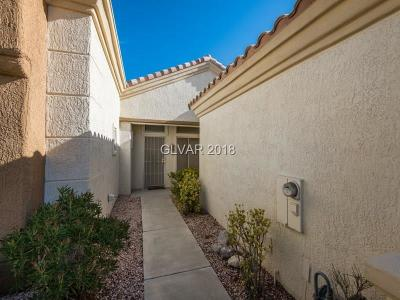 Las Vegas Condo/Townhouse For Sale: 2108 Spring Water Drive