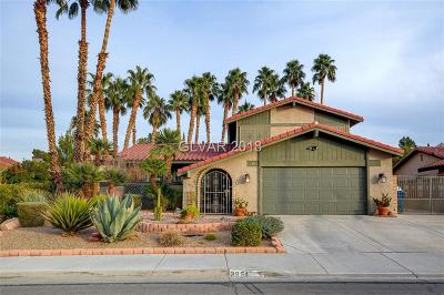 Las Vegas Single Family Home For Sale: 3954 Spitze Drive