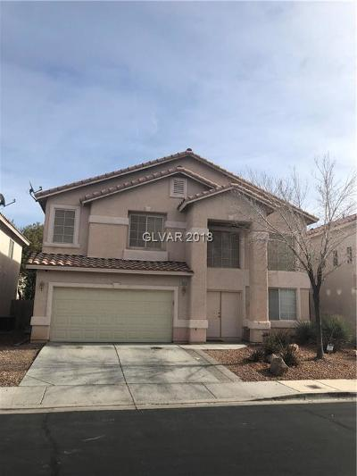 Las Vegas Single Family Home For Sale: 10010 Daisy Patch Street