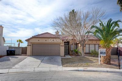 North Las Vegas Single Family Home For Sale: 2633 Lake Martin Court