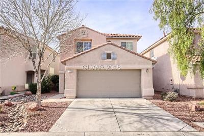 Las Vegas Single Family Home For Sale: 7637 Lookout Hill Street