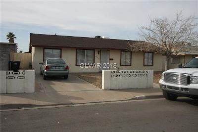 Henderson NV Single Family Home For Sale: $139,900
