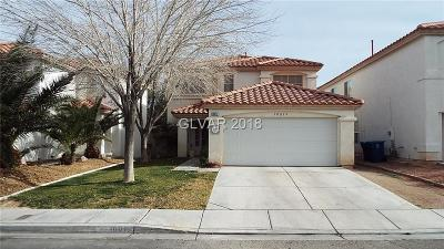 Las Vegas NV Single Family Home Under Contract - No Show: $268,000