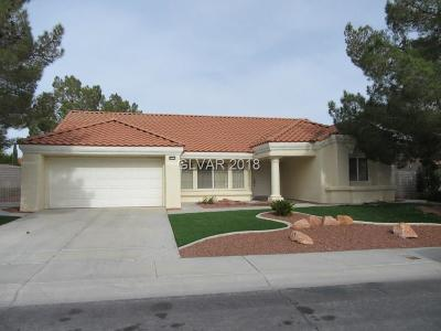 Single Family Home Contingent Offer: 8920 Desert Mound Drive