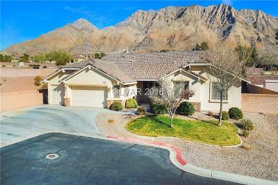 Las Vegas Single Family Home For Sale: 734 Coral View Street