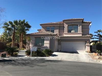 North Las Vegas Single Family Home For Sale: 2144 Marsh Tern Court