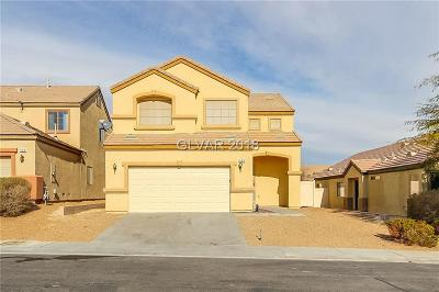North Las Vegas Single Family Home For Sale: 526 Dolphin Peak Court