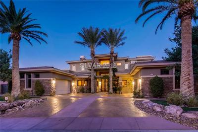 Henderson NV Single Family Home For Sale: $3,100,000