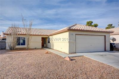 North Las Vegas NV Single Family Home For Sale: $180,000