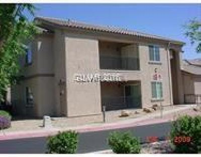 North Las Vegas Condo/Townhouse For Sale: 4720 Apulia Drive #101