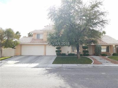 North Las Vegas Single Family Home For Sale: 925 Sage Hollow Circle