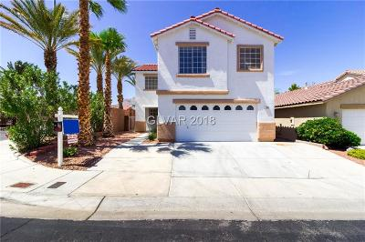 Las Vegas Single Family Home For Sale: 3701 Shanagolden Street
