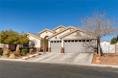 Las Vegas Single Family Home For Sale: 8010 Brighton Summit Avenue