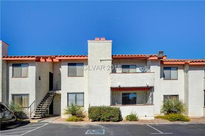 Las Vegas Condo/Townhouse For Sale: 1701 Katie Avenue #83