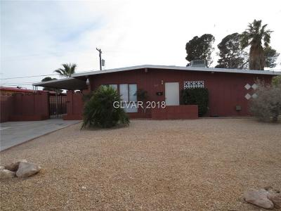 North Las Vegas Single Family Home For Sale: 3415 Reynolds Avenue