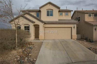 North Las Vegas Single Family Home For Sale: 5162 Cross Ranch Street