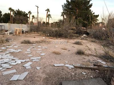 Las Vegas Residential Lots & Land For Sale: 1320 Winwood Street